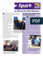 SEIU Local 888 Spark, Election Wrap-up, November 2012