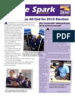 SEIU Local 888 Spark, Election Wrap-up, November 2012