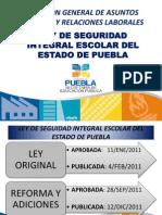 Ley de Seguridad Integral Escolar (presentacion)