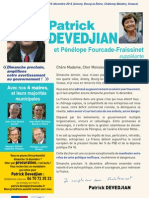 Profession de Foi Patrick Devedjian