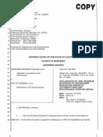 20121207_Vargas 3- Fees_Franklin Declaration+Bills