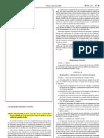 Orden EDU/693/2008 que desarrolla decreto comedor escolar