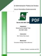 ISO - Resumen Norma ISO 9001-2008