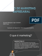 Plano de Marketing Empresarial