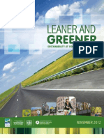 Leaner and Greener report