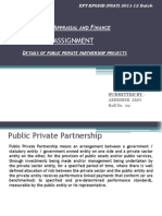 Public private partnership projects in India