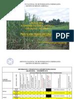 BOLETÍN AGROMETEOROLÓGICO Decadal Nº 363-Para la eco región del Chaco-2do Decadal de DICIEMBRE del 2012