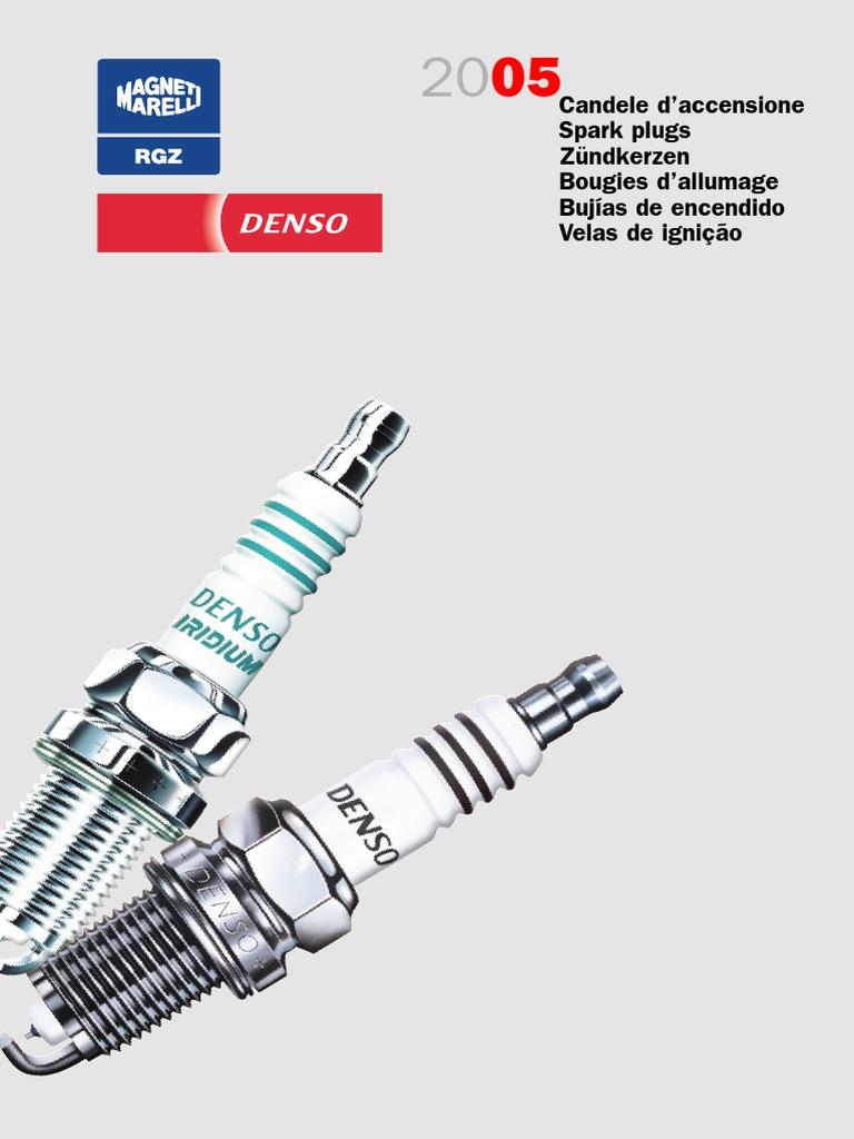 4x MERCEDES SLK r170 200 ORIGINALE DENSO candele standard