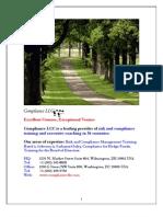 1 Compliance Training Catalog