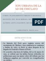 Evolucion Urbana de La Ciudad de Chiclayo