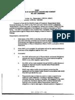 20050811 Hantz NASD Acceptance Waiver Consent