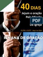 40 Dias 2011