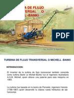 diseño de turbina MIchell Banki