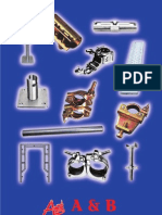 Standard scaffold catalogue