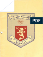 Commissioning Booklet - SSBN-617 - USS Alexander Hamilton -