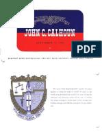 Commissioning Booklet - SSBN-630 - USS John C. Calhoun