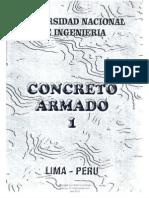 Concreto Armado I - UNI