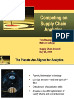 Competing on Supply Chain Analytics_V Good