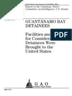 2012 Select Committee on Intelligence, U.S. Senate  Report GUANTÁNAMO BAY