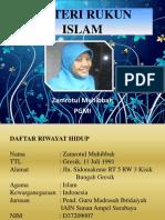 Materi Rukun Islam
