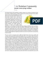 ADM and corporate corn syrup welfare