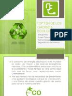 Top Ten de Los Gadgets Ecologicos