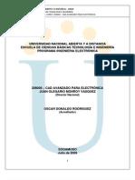 CAD Avanzado para electrónica julio 2009 V2