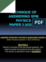 Teknik Menjawab Soalan Kertas 3