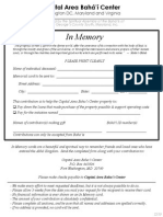 In-Memory Form