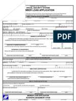 SSS Member Loan Application