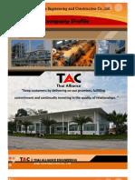 Tac Company Profile 2012