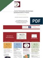 chiffres secteur informations professionnelles 2008