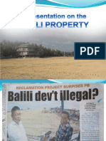 Presentation on Balili Propertyfinal