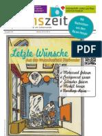 lebenszeit - Zeitung für Diskurs & Ethik am Lebensende - Ausgabe #6 - Letzte Wünsche