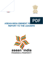 ASEAN-India Eminent Persons' Report to the Leaders