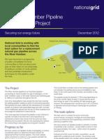 River Humber Pipeline Information Leaflet Dec 2012