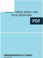 TOUR10 - ORGANIZATION OF A TRAVEL AGENCY