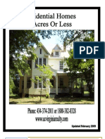 Residential 5 Acres or Less Catalog 2-3-09