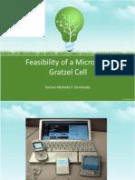 Feasibility of a Microalgal Solar Cell
