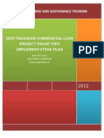 Zest Program Commercial Agriculture Cash Project Phase Two Implementation Plan - Brian m Touray -Zanzibar - Uwanwima-usaid-cordaid