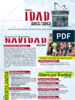 Programación municipal de actividades en Navidad 2012