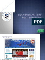 Digital Brand Health for Angelicum College