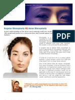 Regular Rhinoplasty vs Asian Rhinoplasty PDF File