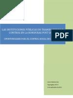 Informe Final- Instituciones públias y oportunidades para el Control Social L.R. 27.10.11
