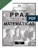 PPAA Matematica 3