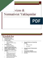 Normativizm & Normativist Yaklasimlar
