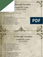 Programa de Actos del II Mercado Navideño Ciudad de Ceuta