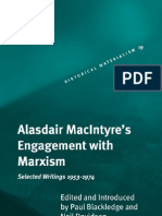 Blackledge - Alasdair MacIntyres Engagement With Marxism (Selected Writings 1953-1974)