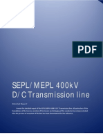 400KV TL History