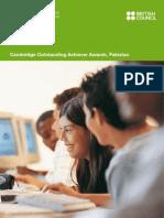 CIE distinctions 2009